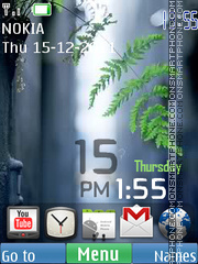 Android Widgets 02 theme screenshot