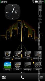 Lightening City es el tema de pantalla