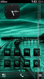 Sea Paradise theme screenshot