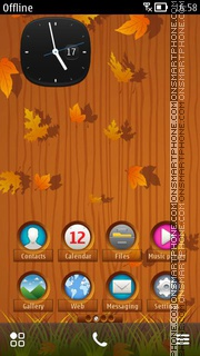 Autumn HD theme screenshot