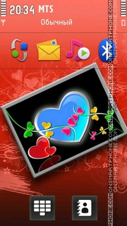 Heart 21 theme screenshot
