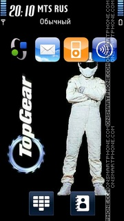 The Stig - Top Gear 01 theme screenshot
