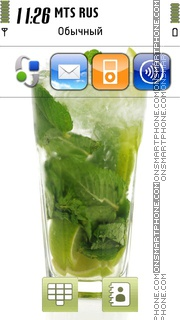 Mojito De Casa theme screenshot