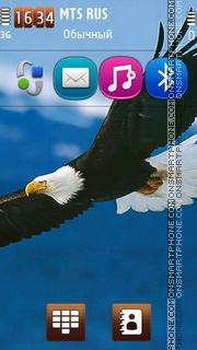 Steaming Eagle tema screenshot