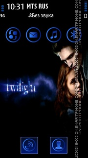 Twilight 04 tema screenshot