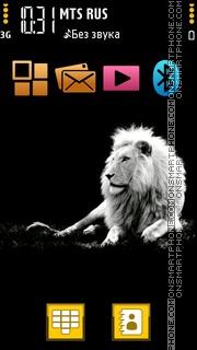 White Lion 03 Theme-Screenshot