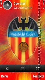 Valencia theme screenshot