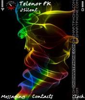 Скриншот темы Rainbow