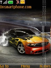 Ford Mustang 94 theme screenshot
