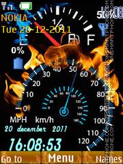 Speedometer 04 tema screenshot