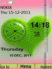 Dual Clock 06 theme screenshot