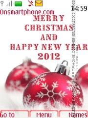 Happy New Year 2012 03 theme screenshot