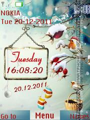 Winter Time 01 theme screenshot