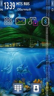 Underwater 04 theme screenshot