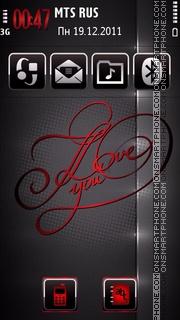 Forever love 06 es el tema de pantalla
