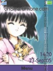 Hotaru Tomoe theme screenshot