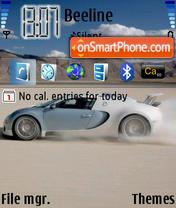 Capture d'écran Car 02 thème
