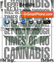 Cannabis 03 tema screenshot