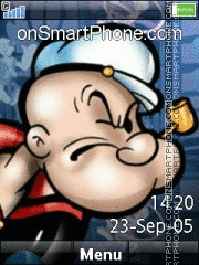 Popeye 01 theme screenshot