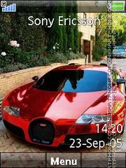Bugatti Veyron 17 es el tema de pantalla