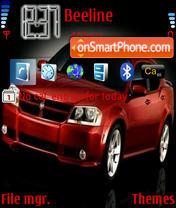 Cars 01 theme screenshot