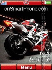 Yamaha R6 02 theme screenshot