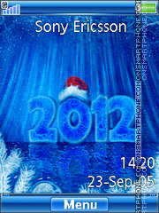 Happy New Year 2012 05 es el tema de pantalla