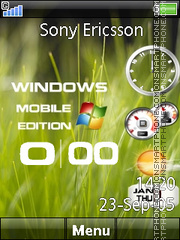 Windows Edition es el tema de pantalla