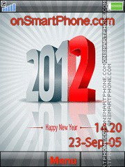 Happy New Year 2026 es el tema de pantalla