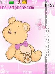 Teddy Bear 06 theme screenshot