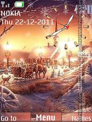 Скриншот темы Winter Time 03