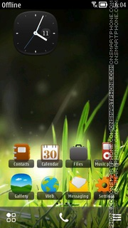 Grass 03 theme screenshot
