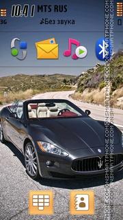 Maserati Grancabrio theme screenshot