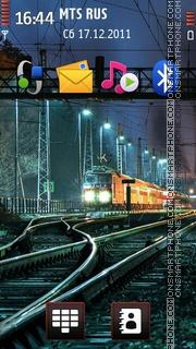 Train Track Theme-Screenshot