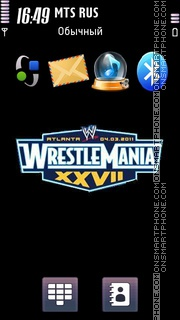 WCW Wrestlemania tema screenshot