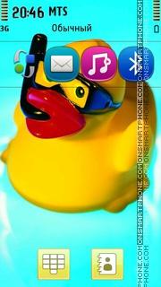 Little Rubber Duck theme screenshot
