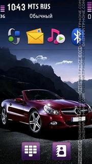 Mercedes 3262 theme screenshot
