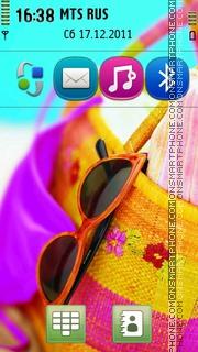 Summer Handbag theme screenshot