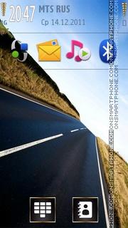 The Road 01 theme screenshot