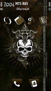 Grafitti Skull Theme-Screenshot