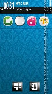 Nokia Light Blue 01 tema screenshot