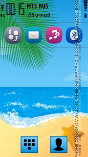 Beach 37 theme screenshot