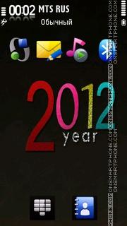 2012 Nokia theme screenshot