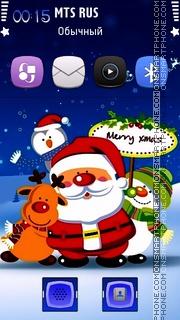 Merry Xmas 06 theme screenshot
