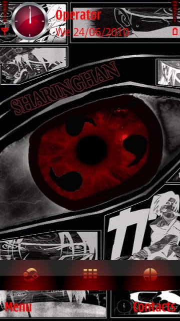 Sharingan New theme screenshot