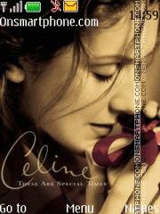 Celine Dion es el tema de pantalla