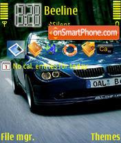 BMW alpina theme screenshot