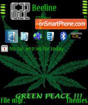 Green Peace es el tema de pantalla