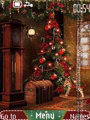 Christmas night theme screenshot