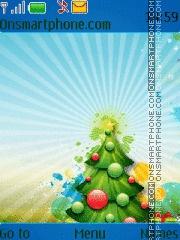 Скриншот темы Christmas Tree 10